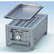 Гастрогриль 1 с решеткой и стальной сковородой фото