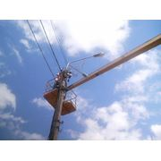 Электроработы на улице фото