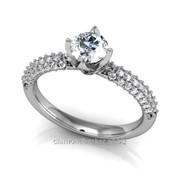Кольца с бриллиантами D41249-1 фото