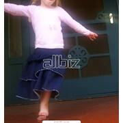 Юбки детские фото