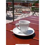 Зал кафе велнес-клуба фото