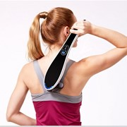 Ручной массажер для тела BODY MASSAGER c ИК-прогревом (черный) фото