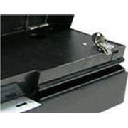 Денежный ящик Flip-top Posiflex CR-2020B черный, крышка из высокопрочного пластика фото