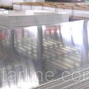 Лист алюминиевый гладкий Д16Т 10х1500х4000 мм (2024 Т351) дюралевый лист фото
