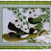 Набор для вышивки картины Счастливое семейство 61х49см 373-37010684 фото