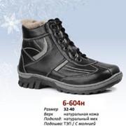 Ботинки зимние 6-604сн фото