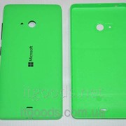 Крышка задняя зеленая для Microsoft Lumia 540 4147 фото