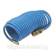 Шланг спиральный для пневмоинструмента 20м TE65006 фото