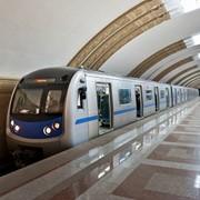 Размещение рекламы в метрополитене г. Алматы фото