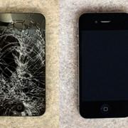 Замена дисплея на черном iPhone 5 фото