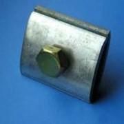 Зажим плашечный для заземляющего провода, 066 фото