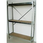Полочные стеллажи средней серии (система STD) фото