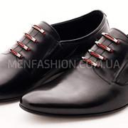 Туфли мужские CARLO DELARI чёрного цвета 086 фото