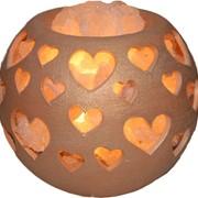 Лампа соляная Любовь - морковь фото