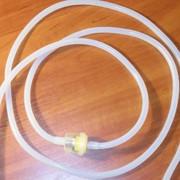 Стандартный шланг с фильтром для вакуумнго массажного аппарата (материал силикон) фото