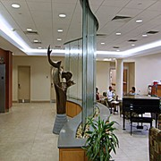 Водопад в офисе фото