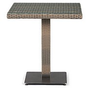Плетеный стол T601G-W1289-70х70 Pale фото