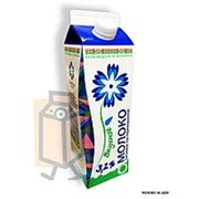 Молоко пастеризованное Витебское молоко Вкусное 3,2% 1л пюр-пак фото