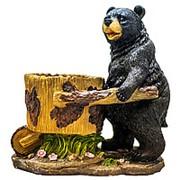 Фигура Медведь с тележкой 19170 фото