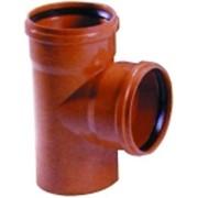 Тройник ПВХ канализация д. 200x200/90 (5333) фото