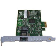 395866-001 Контроллер HP NC320T PCI Express Gigabit NIC board - Has one RJ-45 connector, single port, uses copper cabling, 40KB onboard memory, фото