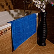 Махровое полотенце для ног 700 гр, 50 х 70 см, цвет Васильковый фото
