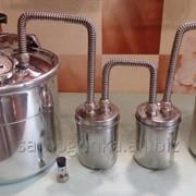 Самогонный аппарат, дистиллятор 12 литров (4 в 1 самогонный аппарат, дистиллятор воды, кастрюля, скороварка) фото