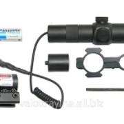 Лазерный целеуказатель 1х30 АХ 4019 (зел) фото