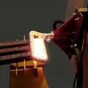 Установка ТВЧ для индукционной пайки инструмента фото