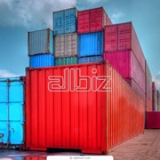 Морские перевозки, контейнеры фото
