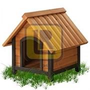 Утепленная будка для собаки Тип 3 фото