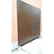 Ворота распашные ALUTECH для промышленных объектов фото