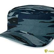 Кепка шлифовка синий камыш фото