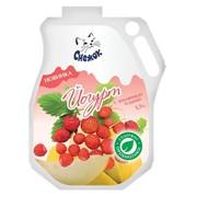 Йогурт питьевой с земляникой и дыней 1,5%, 900г фото