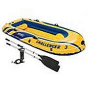 Лодка надувная Challenger 3 Intex 68370 фото