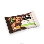 Веда 15г Choco Dog Лакомство для собак Темный шоколад с инулином фото
