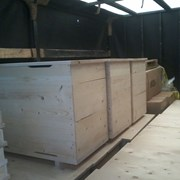Ульи - лежаки для пчел на 14, 16, 20 и 24 рамки фото