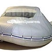 Носовой тент с окном для Лодки ПВХ 400 см фото