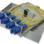 Кросс оптический настенный 4 SC/SM фото