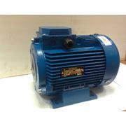 Электродвигатель асинхронный АИР112М4 55/1500 Полый вал фото