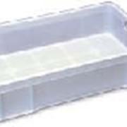 Стыкующийся пластиковый ящик 600х400х145 фото