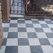 Плитка тротуарная бетонная Донрок.  фото