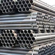 Труба стальная электросварная оцинкованная ГОСТ 10704 фото