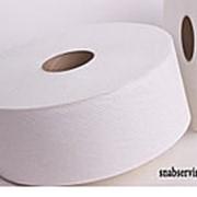 Туалетная бумага для диспенсера 170 м белая 1 сл фото