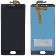 Дисплей для Meizu M5C (A5) черный в сборе с тачскрином фото