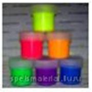 Набор из 6-ти флуоресцентных акриловых красок DecART, для декоративно-оформительских и художественных работ по тканям, штукатурке, бумаге, дереву, фото