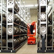 Стеллажи для торговых компаний проект: Беко Бил, Швеция фото