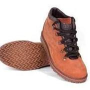 """Ботинки """"TREK Парк 95-99/2"""" капровелюр/ красно-коричневый фото"""