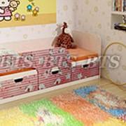 Детская кровать Минима Хеллоу Китти фото