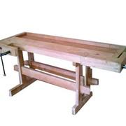 Верстак столярный ВС-1, мебель и оборудования для школьных мастерских и состоят из отдельных модулей - разнообразных тумб, столешниц, полок и др.элементов фото